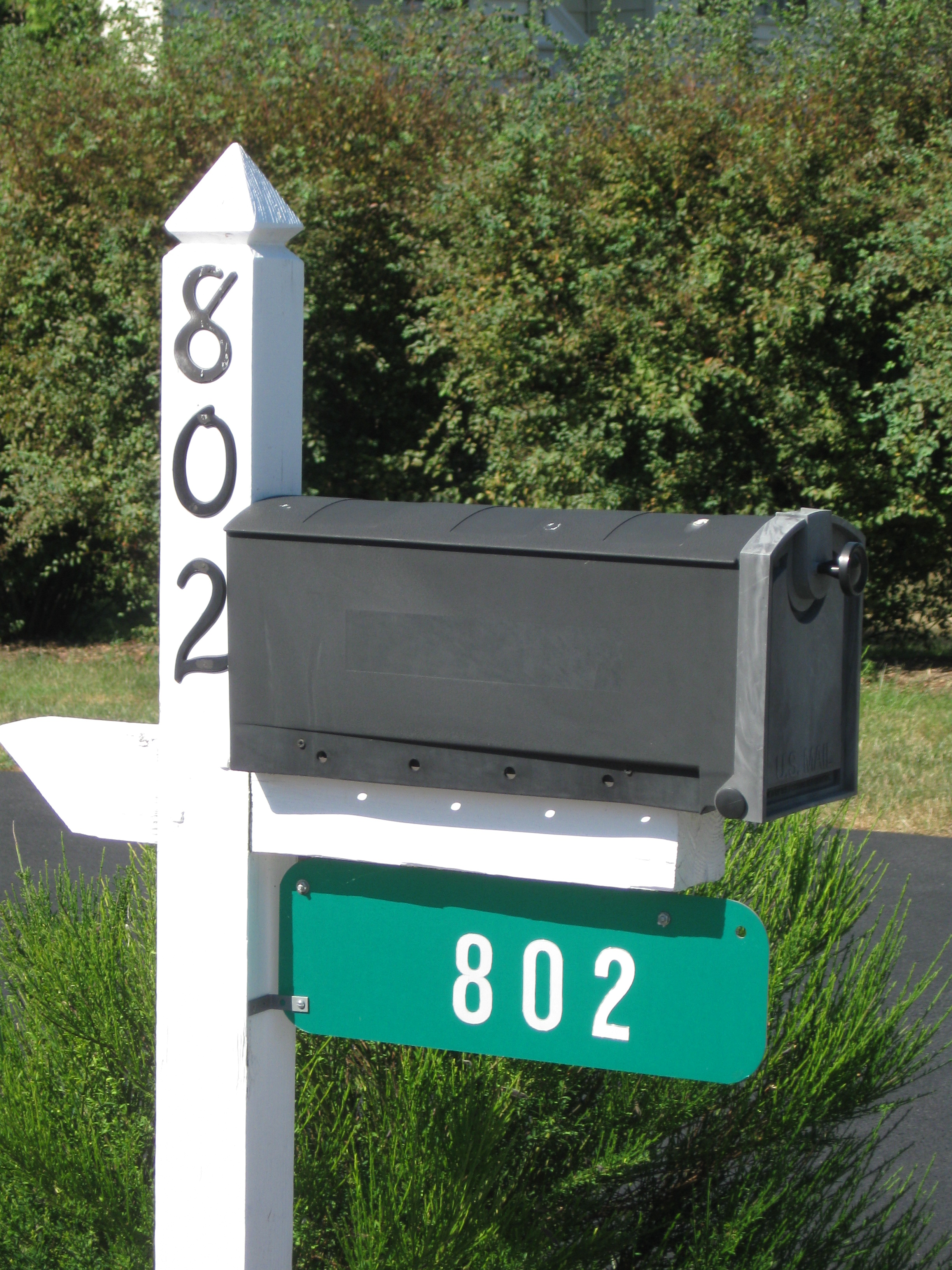 802 Address Sign