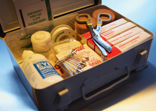 Emergency treatment Kit Supplies and Refills